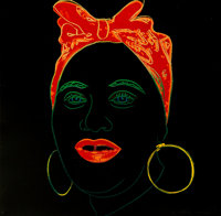 Andy Warhol (1928-1987) Mammy, from Myths, 1981 Screenprint in colors with Diamond Dust o