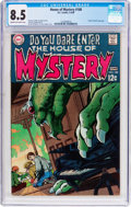Silver Age (1956-1969):Horror, House of Mystery #180 (DC, 1969) CGC VF+ 8.5 Cream to off-whitepages....