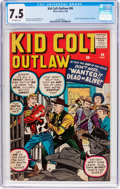 Silver Age (1956-1969):Western, Kid Colt Outlaw #90 (Atlas/Marvel, 1960) CGC VF- 7.5 Off-whitepages....