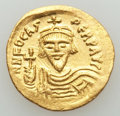 Ancients:Byzantine, Ancients: Phocas (AD 602-610). AV solidus (4.46 gm). AU,graffiti....