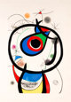 Joan Miró (1893-1983) Galathée, 1976 Etching and aquatint in colors, with embossing, on Arches paper 45-1/...