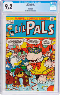 Li'l Pals #4 White Mountain Pedigree (Marvel, 1973) CGC NM- 9.2 White pages
