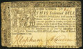 Colonial Notes, Maryland March 1, 1770 $8 Very Good-Fine.. ...
