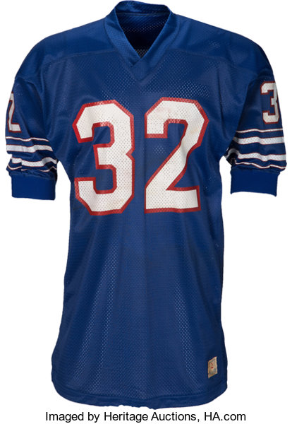online store d8c9e 1476b 1973 O.J. Simpson Game Worn Buffalo Bills Jersey from Record ...