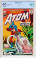 Showcase #34 The Atom (DC, 1961) CBCS FN 6.0 Off-white to white pages
