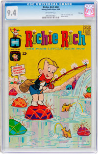 Richie Rich #80 File Copy (Harvey, 1969) CGC NM 9.4 Off-white pages