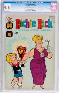 Richie Rich #86 File Copy (Harvey, 1969) CGC NM+ 9.6 Off-white to white pages