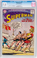 Superman #112 (DC, 1957) CGC VF- 7.5 Cream to off-white pages
