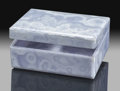 Lapidary Art:Boxes, Blue Lace Agate Box. Stone Source: South Western Africa. ...