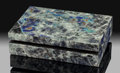 Lapidary Art:Boxes, Labradorite Box. Stone Source: Madagascar. ...