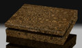 Lapidary Art:Boxes, Stromatolite Box. Stone Source: Minnesota, USA. ...