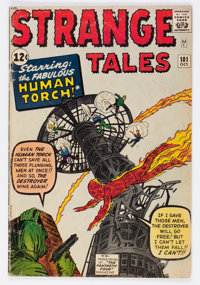 Strange Tales #101 (Marvel, 1962) Condition: GD+