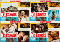 """Two Weeks in September (Excelsior Film, 1967). Italian Photobusta Set of 8 (26.5"""" X 18.25""""). Foreign. ... (Tot..."""