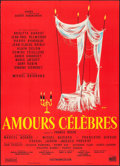 """Movie Posters:Foreign, Famous Love Affairs (Unidex, 1961). French Grande (45"""" X 61.25"""") Siry Artwork. Foreign.. ..."""