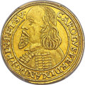 German States:Oppeln And Ratibor, German States: Oppeln & Ratibor. Karl Ferdinand of Poland gold2 Ducat 1653 UNC Details (Mount Removed) PCGS,...