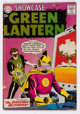 Showcase #23 Green Lantern (DC, 1959) Condition: GD/VG