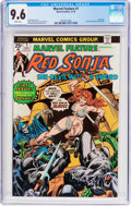 Bronze Age (1970-1979):Adventure, Marvel Feature (2nd Series) #1 Red Sonja (Marvel, 1975) CGC NM+ 9.6 White pages....