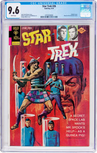 Star Trek #26 (Gold Key, 1974) CGC NM+ 9.6 White pages