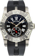 Timepieces:Wristwatch, Roger Dubuis, Easy Diver S.A.W. Limited Edition 196/888, Circa 2000's. ...