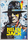 "Movie Posters:Action, Billy Jack (Warner Brothers, 1971). French Grande (43.75"" X 62.75"") Ermanno Iaia Artwork. Action.. ..."
