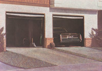 Robert Bechtle (b. 1932) Sunset Cadillac, 1987 Soft ground etching in colors on Somerset paper 9