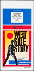 "Movie Posters:Academy Award Winners, West Side Story (Zenith, R-1990s). Italian Locandina (13"" X 27.5"").Academy Award Winners.. ..."