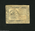 Colonial Notes:Continental Congress Issues, Continental Currency July 22, 1776 $5 Very Fine. Nice signatures and a boldly printed emblem highlight this note. This issue...
