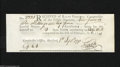 Colonial Notes:Connecticut, Connecticut 1790 Interest Payment Certificate $9 6s 2p AboutUncirculated. This is an attractive and most importantly, an ...