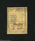 Colonial Notes:Pennsylvania, Pennsylvania October 1, 1773 50s Choice New. Too tightly marginedfor a higher grade, but a very nice piece in all other res...