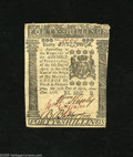 Colonial Notes:Pennsylvania, Pennsylvania April 25, 1776 40s Choice About New++. A very faintcenter fold is found on this well margined note that has bo...