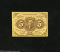 Fractional Currency:First Issue, Fr. 1231 5c First Issue Gem New. A lovely example of this veryscarce No Monogram variety that is sure to please its new own...