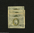 Fractional Currency:Second Issue, Fr. 1232 5c Second Issue VG Fr. 1244 10c Second Issue Fine+ Fr. 1288 25c Second Issue VG-Fine Fr. 1316 50c Seco... (4 notes)