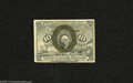 Fractional Currency:Second Issue, Fr. 1244 10c Second Issue About New. A light corner fold is noted on this vibrant note....