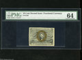 Fractional Currency:Second Issue, Fr. 1246 10c Second Issue PMG Choice Uncirculated 64. Fr. 1246s are three times scarcer than Fr. 1244s....