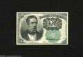 Fractional Currency:Fifth Issue, Fr. 1264 10c Fifth Issue Choice About New. A very lovely example ofthis much scarcer green seal Meredith that appears every...