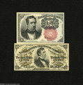 Fractional Currency:Fifth Issue, Fr. 1266 10c Fifth Issue Gem NewFr. 1294 25c Third Issue ChoiceNew. Here are a couple of nice Fractional pieces. ... (2 notes)