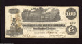 Confederate Notes:1862 Issues, T39 $100 1862. Light handling graces this C-note. AboutUncirculated....