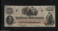 Confederate Notes:1862 Issues, T41 $100 1862. This Extremely Fine Scroll 1 note was printed on CSAscript watermarked paper....