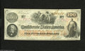 Confederate Notes:1862 Issues, T41 $100 1862. This note dated Dec, 30, 1862 remains quite nicewith great eye appeal. Two interest paid stamps appear, one ...