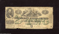 Confederate Notes:1862 Issues, T43 $2 1862. This note which suffers from numerous pinholes iscomplete with a vibrant green overprint which offers good eye...
