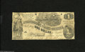 Confederate Notes:1862 Issues, T44 $1 1862. Some snap still remains in this note which hasnumerous holes. Very Good....