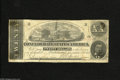 Confederate Notes:1862 Issues, T51 $20 1862. This complete note has four dark glue spots on theback at each corner. Very Good....