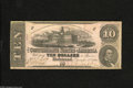 Confederate Notes:1862 Issues, T52 $10 1862. Bright pink color is found on this 3rd Series notewhich has numerous pinholes. Fine....
