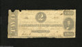 Confederate Notes:1862 Issues, T54 $2 1862. This Two took the brunt of circulation. Good....