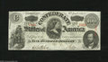 Confederate Notes:1863 Issues, T56 $100 1863. This is a lovely Choice CU note that is fresh andbright with very good embossing and nice margins for this t...