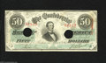 Confederate Notes:1863 Issues, T57 $50 1863. This $50 was issued in November 1863. Very Fine,HOC....
