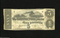 Confederate Notes:1863 Issues, T60 $5 1863. This Cr.-450 note has excellent eye appeal with a fewpinholes noticed. Fine....
