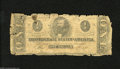 Confederate Notes:1863 Issues, T62 $1 1863. This Ace was a casualty of circulation. About Good....