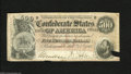 Confederate Notes:1864 Issues, T64 $500 1864. A small piece in the lower right-hand corner is missing from this Fine $500....