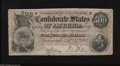 Confederate Notes:1864 Issues, T64 $500 1864. This $500 is bright for the grade, but has several edge tears. This popular type commemorates the life of bel...